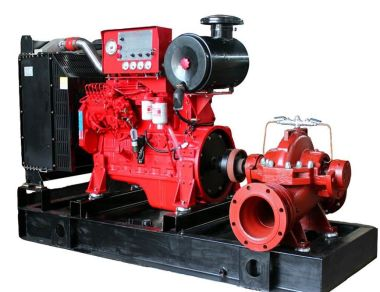 Diesel Pump Diesel Fire Pump Set By Isuzu TechnologyCap 500 GPM Head 80 MeterRefer to NFPA20 Control Engine Box diesel engine 7